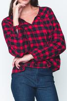 Movint Tartan Plaid Blouse