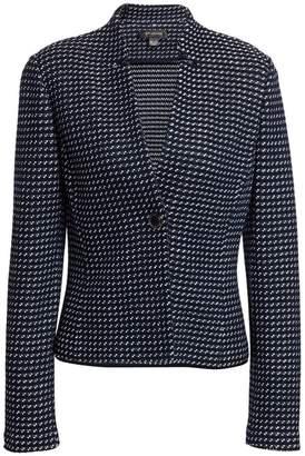 St. John Dotted Tweed Jacket