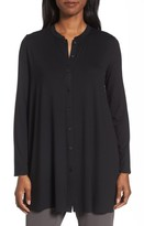 Eileen Fisher Women's Button Front Jersey Tunic