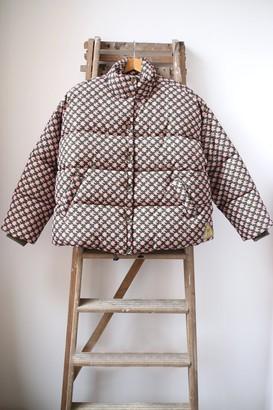 Scotch & Soda Printed Puffa Jacket - S