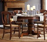 Pottery Barn Tivoli Extending Pedestal Dining Table
