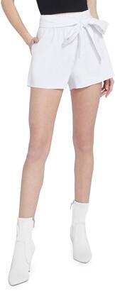 Alice + Olivia Linn Tie Waist Shorts