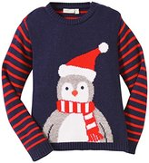 JoJo Maman Bebe Little Boys' Penguin Jumper (Toddler)  - 2/3