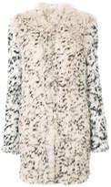 Ulla Johnson leopard print fur coat