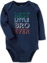 Carter's Best Little Bro Ever Cotton Bodysuit, Baby Boys (0-24 months)