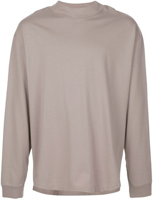 Maison Margiela Stand-Up Collar Oversized Sweatshirt