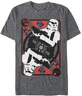 Star Wars Men's Trooper Card Graphic T-Shirt