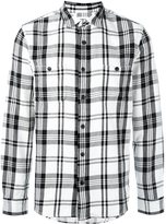 Edwin plaid button down shirt
