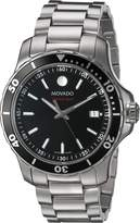Movado Men's 2600135 Swiss Quartz Stainless Steel Automatic Watch