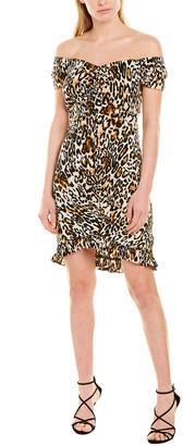 Milly Ella Ruched Mini Dress
