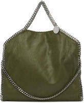 Stella McCartney Green Falabella Fold Over Tote