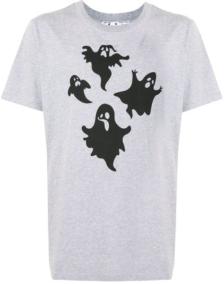 Off-White ghost-print cotton T-shirt