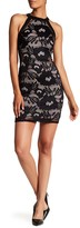 Amy Byer A. Byer Floral Lace Sheath Dress