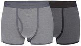 J By Jasper Conran Big And Tall Pack Of Two Grey Striped Trunks