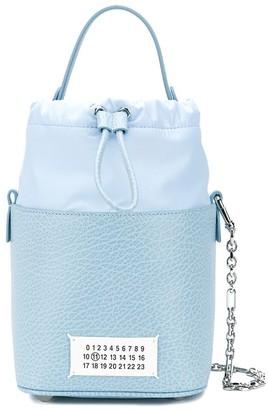 Maison Margiela Logo Patch Bucket Bag