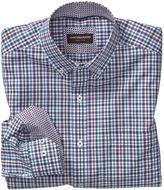 Johnston & Murphy Slub Check Button-Down Collar Shirt
