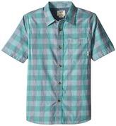 Vans Kids Milton Short Sleeve Shirt (Big Kids)