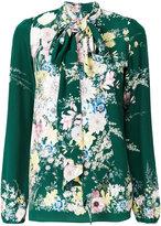 No.21 floral print blouse - women - Silk - 40