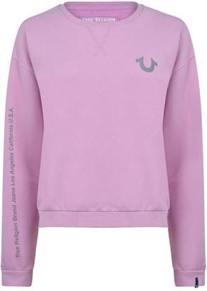 True Religion Reflective Logo Sweatshirt