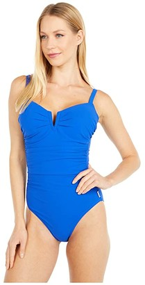 Shan Classique Underwire One-Piece (Royal) Women's Swimsuits One Piece