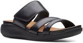 Clarks Women's Sandals Black - Black Un Bali Way Leather Sandal - Women