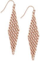 INC International Concepts Mesh Drop Earrings, Only at Macy's