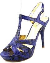 Thalia Sodi Raquell Women US 9.5 Blue Platform Heel