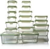 Kinetic Glassworks 36-piece Glass Food Storage Set