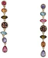 GUESS Multicolored Stone Linear Earrings (Multi) Earring