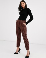 Y.A.S stripe tapered pants