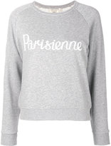 MAISON KITSUNÉ Parisienne print sweatshirt