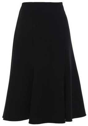 Jonathan Simkhai Flared Stretch-wool Crepe Skirt