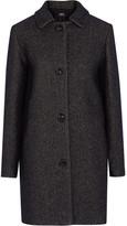 A.P.C. Atelier de Production et de Création Rooney Metallic Wool-blend Coat