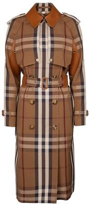 Burberry Rainham checked trench coat