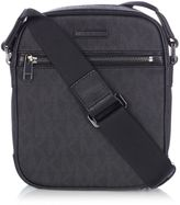 Michael Kors Jet Set All Over Logo Messenger Bag