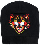 Gucci Tiger beanie - men - Wool - M