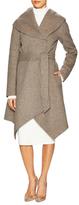 Sofia Belted Shawl Coat