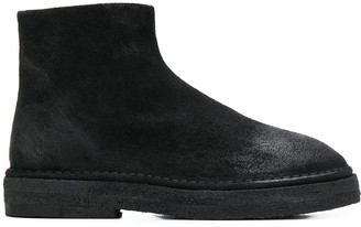 Marsèll Side Zipped Ankle Boots