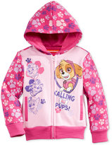 Nannette Nickelodeon's Paw Patrol Fleece Hoodie, Toddler Girls (2T-4T) & Little Girls (2-6X)