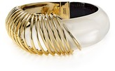 Alexis Bittar Coiled Lucite Hinge Bangle