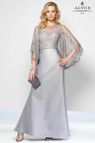 Alyce Paris Black Label - 5806 Long Dress In Silver