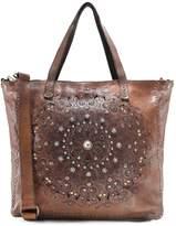 Campomaggi Embellished Leather Shopper Bag