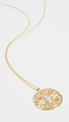 Gorjana Maya Coin Necklace