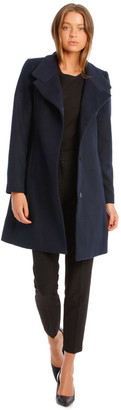Basque Funnel Neck Coat