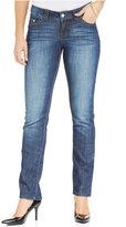 Josie Lee Platinum Secretly Slender Eclipse Wash Straight-Leg Jeans
