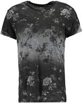 New Look New Look Ombre Floral Print Tshirt Grey