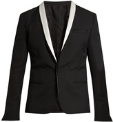 Haider Ackermann Orbai Satin-lapel Wool Dinner Jacket