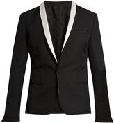 Haider Ackermann Orbai satin-lapel wool dinner jacket