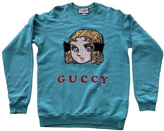 Gucci \N Turquoise Cotton Knitwear