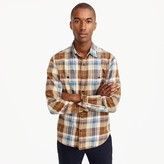 J.Crew Tall midweight flannel shirt in large plaid